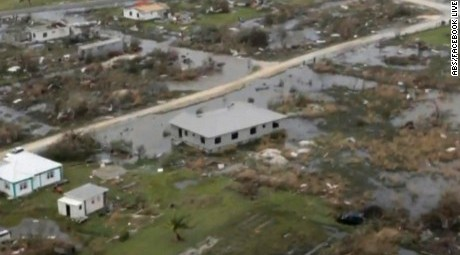 Hurricane destroys 90% of Caribbean Island