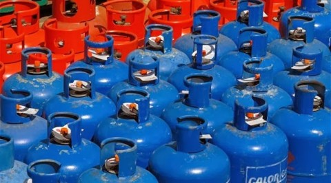 Cooking gas vessel now in Lagos