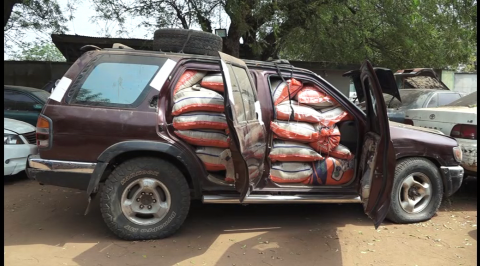 Ogun Customs Seizes 1,830 Smuggled Items