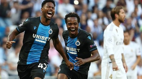 Dennis seeks more goals as Brugge host PSG