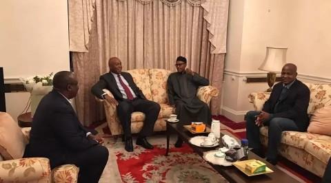 Saraki, Dogara visit Buhari