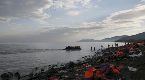 Migrant Boat Sinks Off Greece's Lesbos