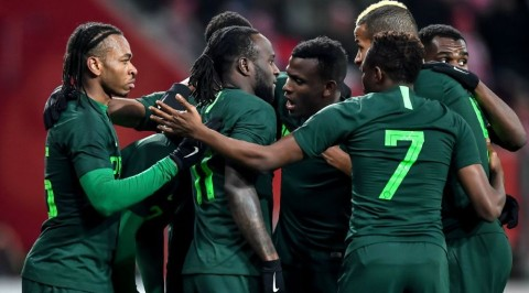 Nigeria announces jersey numbers for World Cup