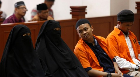 Indonesia female suicide bomber jailed