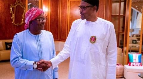 "President Buhari Receives Madagascan COVID-19 Herbal ""Drug"""