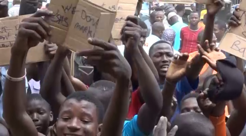 Hausa Traders protest, Vow Not to Return to Shasha