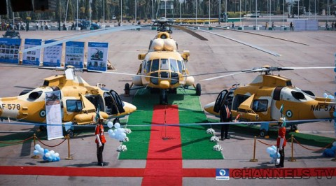 Nigerian Air Force induced three additional Fighter Helicopter.
