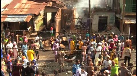 Hoodlums Invade Agbeni Market, Raze Shops