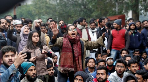 India citizenship law: protests spread across campuses