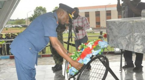 Armed forces, Jaji remembers fallen officers