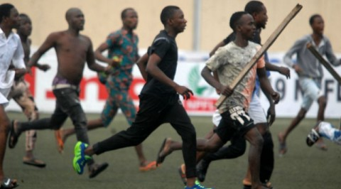FA Cup: Fans went wild at the ABS stadium Kaduna