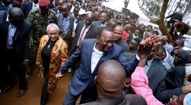 Kenya decides: Kenyatta leading by 54.8%