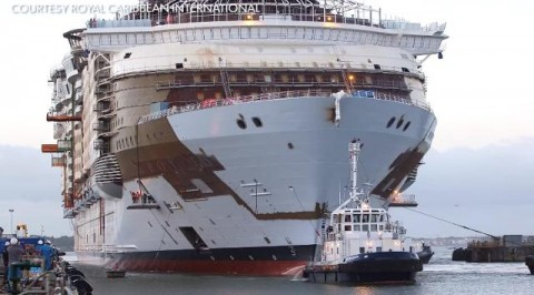 See new world's largest cruise ship (photos)