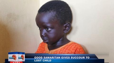 Good Samaritan finds missing 5-year-old boy