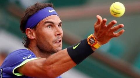Rafael Nadal edges Alexander Zverev