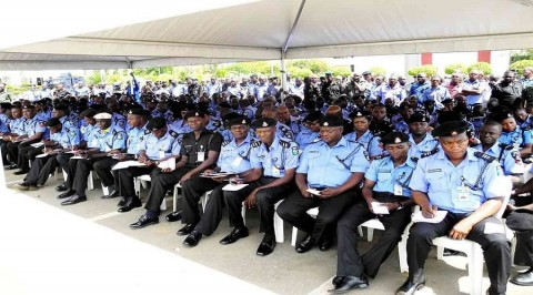 AIG reads Riot Act to police officers