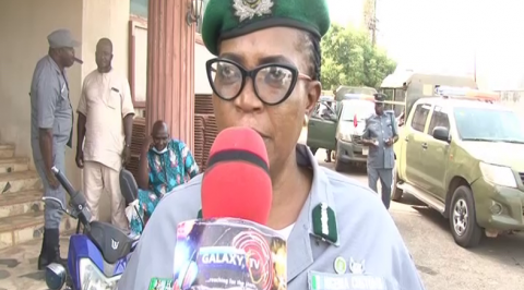 Customs Intercept 624 Bags of Rice and 214 Kegs of Petrol