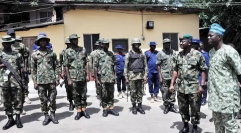 Operation Burst Detains Two Officers over Misbehavior