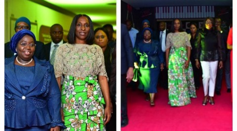 Osinbajo's wife rocks N1,800 outfit