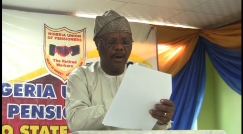 Pensioners Tasks Makinde on Demands of the Union