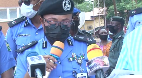 Police Parade Suspected Killers of a Colonel, Parade other Suspects