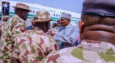 Boko Haram: Buhari visits Maiduguri