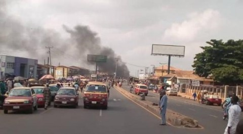 Breaking: Two Fear Dead as Police and Motorcyclists Clash in Ibadan
