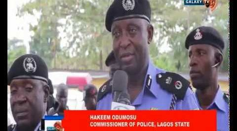 Police Parades Dismissed Army Officer, Others for Various Crimes.