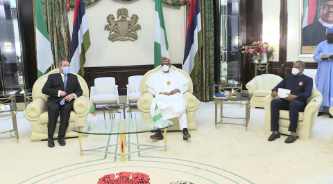 President Buhari Promises to Deepen Economic Cooperation with Algeria
