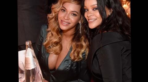 Beyoncé, others  at Rihanna's Diamond Ball