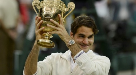 Roger Federer wins 20th Grand Slam