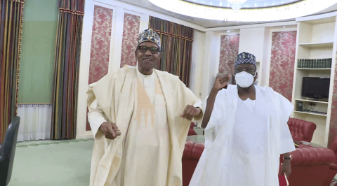 Insecurity: Lawan Meets Buhari, Discuss Way Forward for NDDC