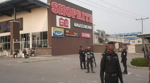 Shoprite shutdown in Lagos as police takeover