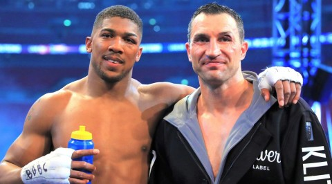 Klitschko Wants Joshua to Become the World's No 1