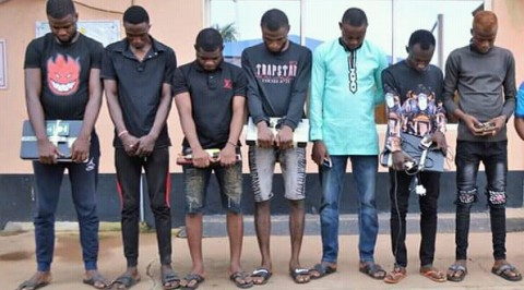 EFCC arrests nine for internet fraud
