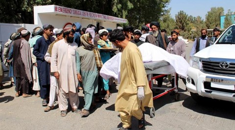 Dozens of civilians killed in Afghan forces' anti-Taliban attack