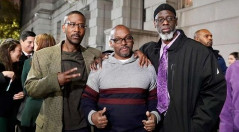 Falsely accused US trio freed after 36 years