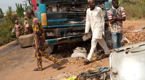 Truck Crushes Four to Death on Ijebu Ode - Oru Road