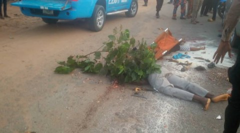 Truck Crushes Couple to Death in Ogun