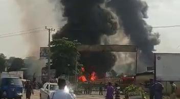 One Injured as Fuel Tanker Explodes in Ibadan