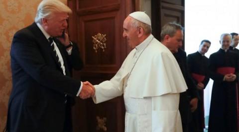 Trump arrives Vatican, meets Pope Francis