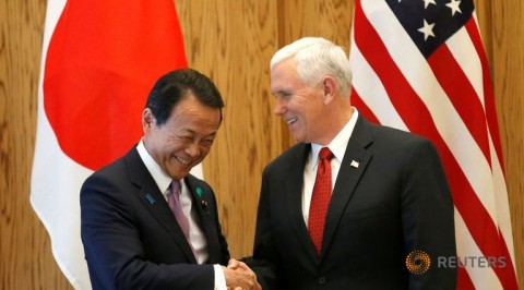 Japan and U.S talks economic policy