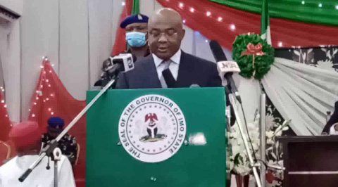 Governor Uzodimma Presents N346.9B as Budget for 2021