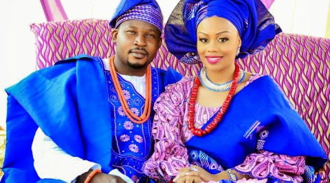See colourful traditional wedding attires