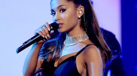 Ariana visits concert victims at hospital