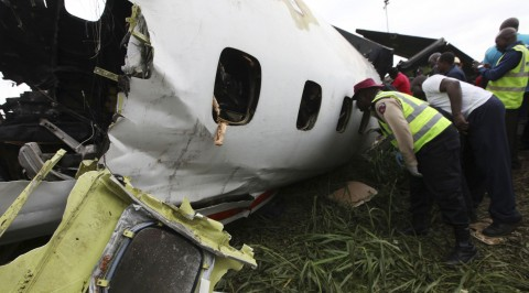 Breaking: plane crashes in Abuja