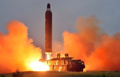 North Korean fires missile into east sea