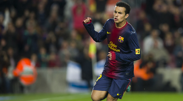 Pedro Dedicates Win To Vilanova