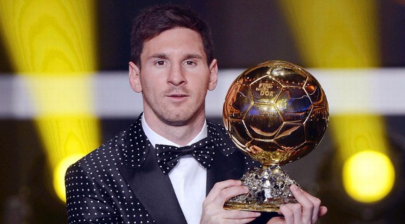 Messi Wins Fourth Consecutive Ballon d'Or