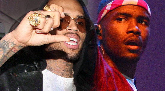 Chris Brown & Frank Ocean Fights At Recording Studio